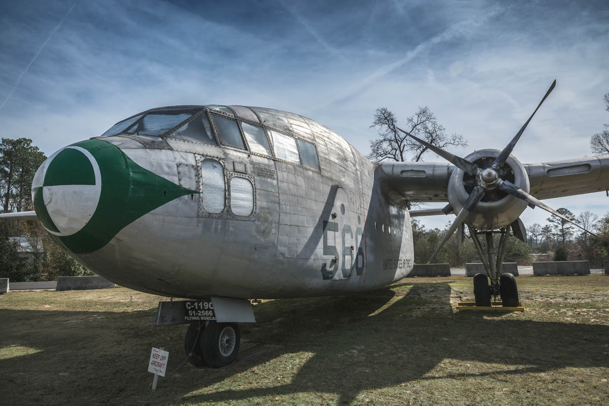 "C-119C ""Flying Boxcar"" - Museum of Aviation"
